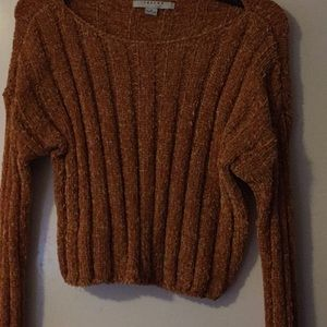 Shoe Dazzle Cropped Sweater